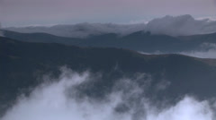 Mystic mountains Stock Footage