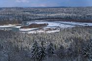 Stock Photo of Germany, Upper Bavaria, river Isar at Pupplinger Au, Isartal