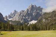 Stock Photo of Italy, South Tyrol, Dolomites, Alta Pusteria, Mountainscape