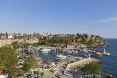 Stock Photo of Turkey, Antalya, Old town and harbor