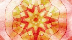 Fractal Star Flower fractal Stock Footage