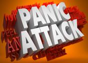Stock Illustration of Pannic Attack Concept.