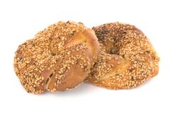 Two bagels Stock Photos