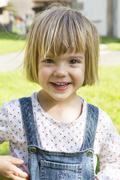 Germany, Baden-Wuerttemberg, portrait of little girl Stock Photos