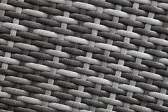 Synthetic rattan texture weaving background Stock Photos
