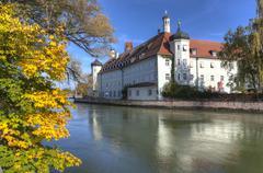 Germany, Bavaria, Landshut, Heilig-Geist-Spital - stock photo
