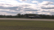 Stock Video Footage of F-15 Eagle taking off Red Flag Alaska