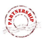 partnership - stock illustration