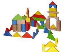montessori toys - stock photo