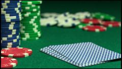 Royal flush, luck, jm0266 Stock Footage