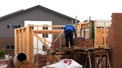 Bricklayers Stock Footage