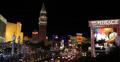 Ultra HD 4K Venetian Hotel Nightlife Las Vegas Strip Crowded Road Traffic Jam 4k or 4k+ Resolution