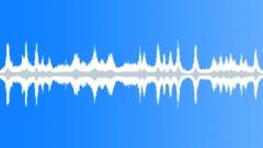 Driving through cobblestone street loop - sound effect