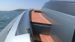 Left side of a maxi rib Stock Footage