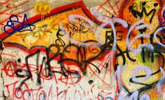Graffiti background Stock Photos