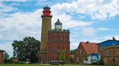 Stock Photo of kap arkona, new lighthouse