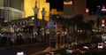 Ultra HD 4K Nighttime Nightlife Nightfall Las Vegas Strip Venetian Hotel Fun Footage