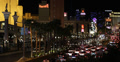 Ultra HD 4K Traffic Jam Nightlife Las Vegas Strip Venetian Hotel, City Night 4k or 4k+ Resolution