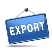 Export button Stock Illustration
