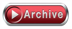 Archive button Stock Illustration
