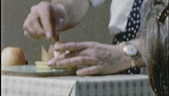 SELLING GADGETS Salesman Hawker Crowd 1960s Vintage Film Home Movie 7326 Stock Footage