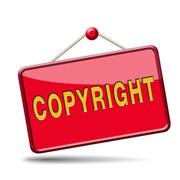copyright - stock illustration