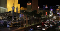 Ultra HD 4K Evening Las Vegas Strip Boulevard Venetian Hotel Tourists Attraction 4k or 4k+ Resolution