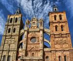 Stock Photo of saint mary cathedal of astorga