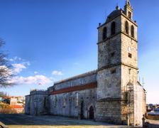 matriz church of vila do conde - stock photo