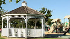 Playground at park (1 of 3) Stock Footage