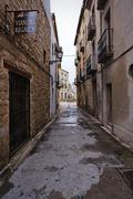street of ubeda, jaen province, andalusia, spain - stock photo