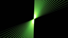 Green Laser Beam VJ Loop (1) - stock footage