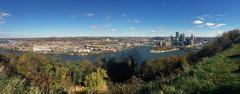 Pittsburgh Panorama - stock photo