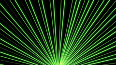 Green Laser Beam VJ Loop (8) Stock Footage