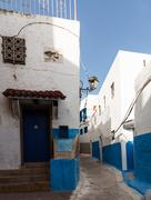 rabat old town or medina morocco - stock photo