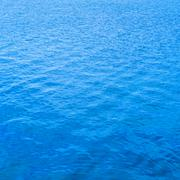 Blue water surface background, texture pattern Stock Photos
