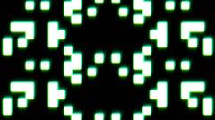 8bit glow Stock Footage