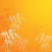 Bamboo background Stock Illustration