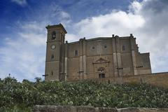 collegiate church of our lady of the assumption in osuna, andalusia, spain - stock photo