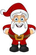 Santa Claus Character - stock illustration