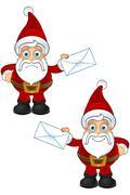 Santa Claus Character - stock illustration
