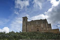 Collegiate church of our lady of the assumption in osuna, andalusia, spain Stock Photos