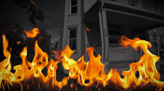 Hell House | Fire and Brimstone Stock Footage