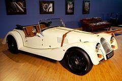 Bangkok, thailand - march 27 : morgan old concept car show at mortor show 201 Stock Photos