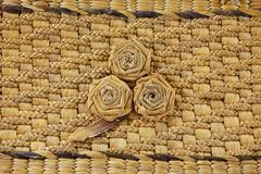 Rattan weave Stock Photos