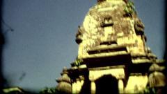 Architecture Nepal colcher Kathmandu religion symbol poverty historic outdoors Stock Footage