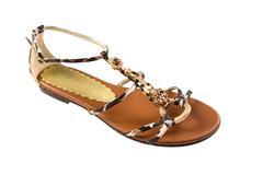 african jewel sandal - stock photo
