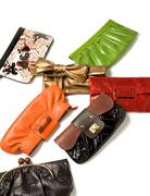 purses fashion composition - stock photo