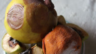 Stock Video Footage of rotten fruit