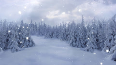 New Year,christmas,3d winter background Stock Footage